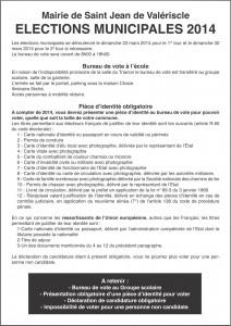 © Mairie - service élections