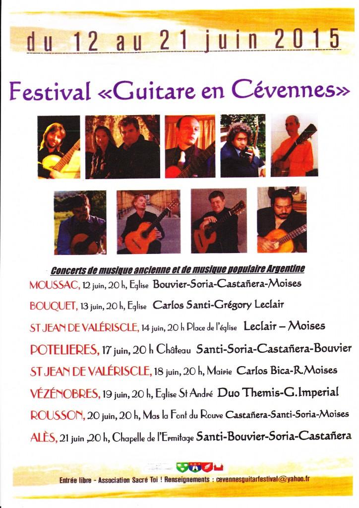 © Festival Guitare