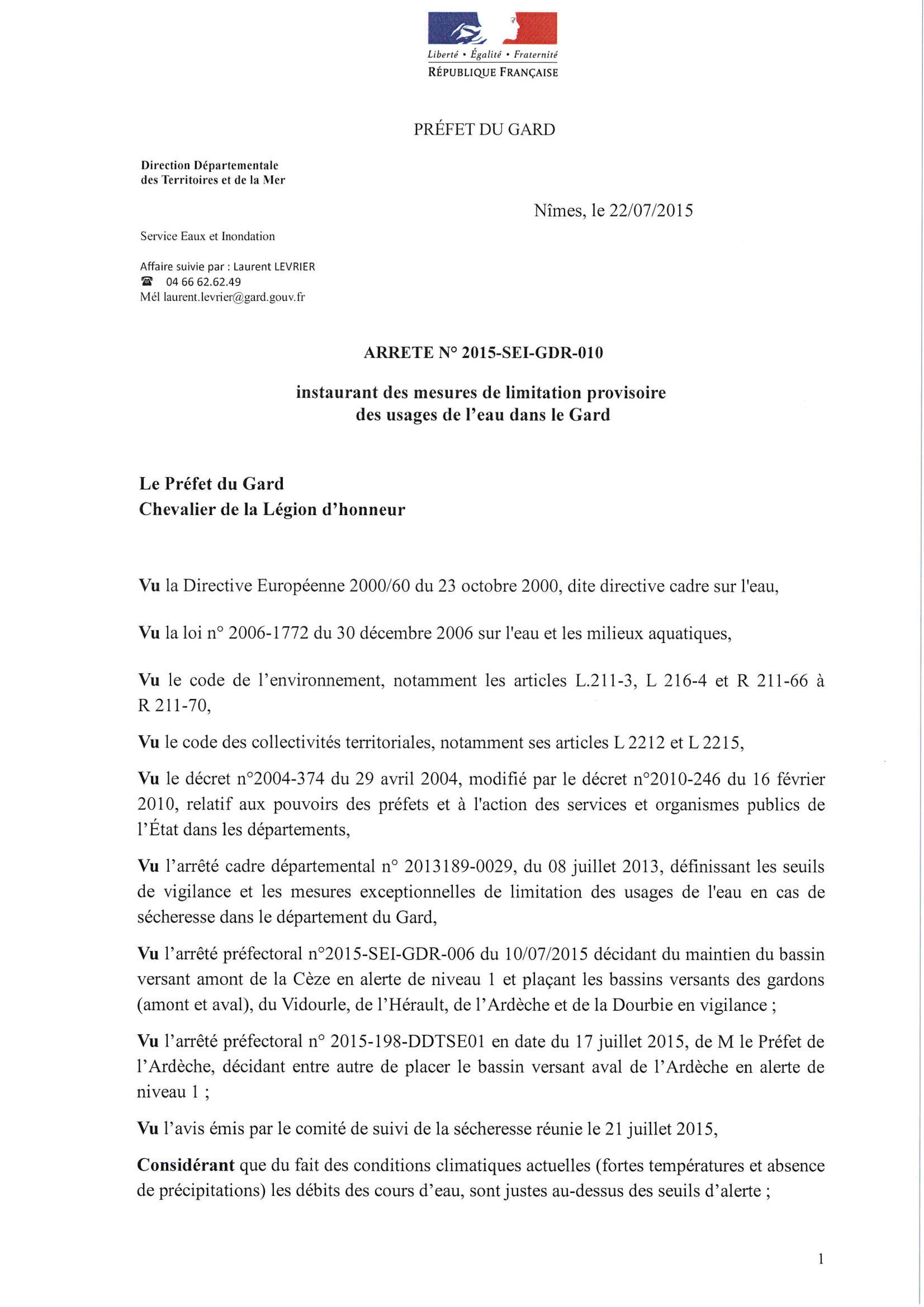 AP_20150721_corp_arrete_restriction_secheresse_GARD_signé_01