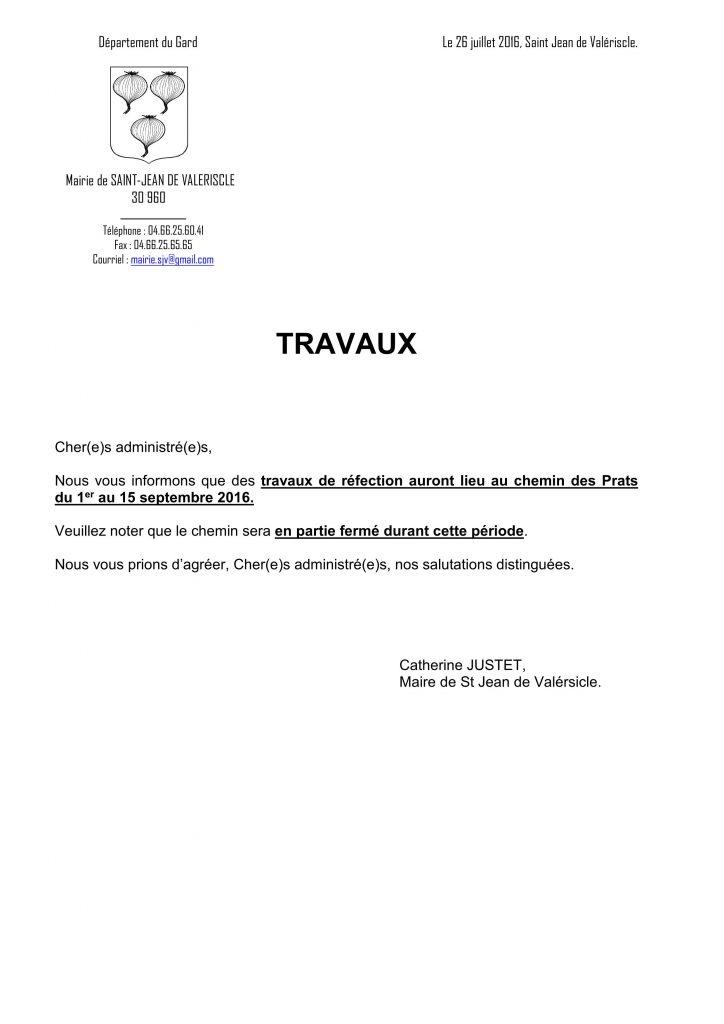 26-07-2016 Courrier fermeture chemin des Prats travaux_01