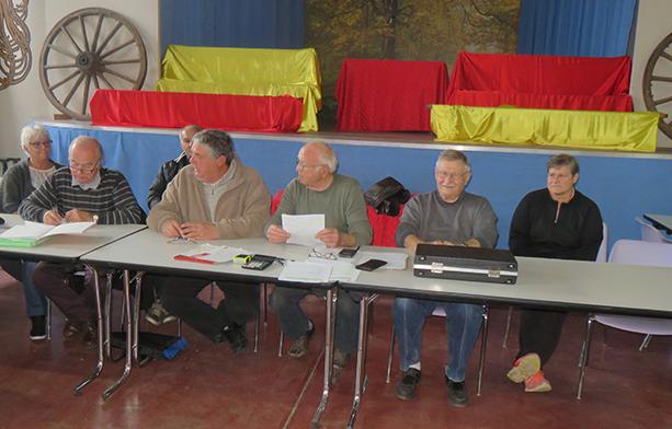 Les membres du bureau ont présenté le bilan et fait des propositions pour l'avenir