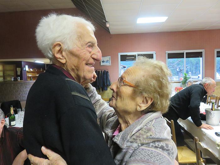 ... et pour cause : Werther et Raymonde : 183 ans à tous les deux et ... 68 ans de mariage !
