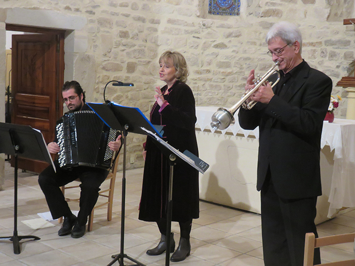 Un trio dynamique pour un concert chaleureusement applaudi