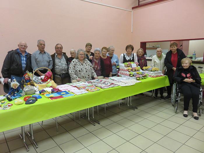 Les membres de l'association ont présenté leurs réalisations