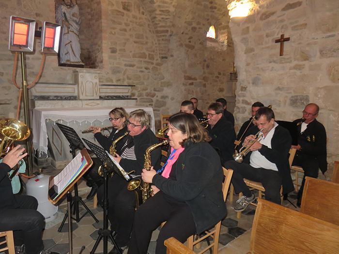 L'Harmonie des mineurs a accompagné l'office religieux