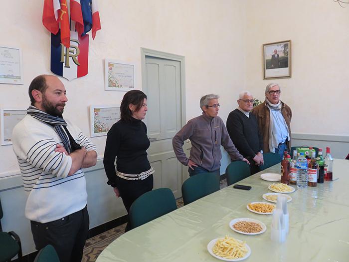 Mme le maire et des élus ont accueilli les employés municipaux