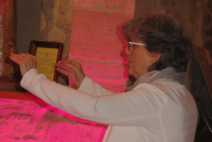 Véronique Godefroy, chef de choeur, a dirigé ce concert de main de maître