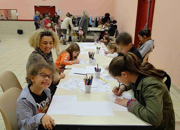 Application et imagination pour réaliser dessins et coloriages