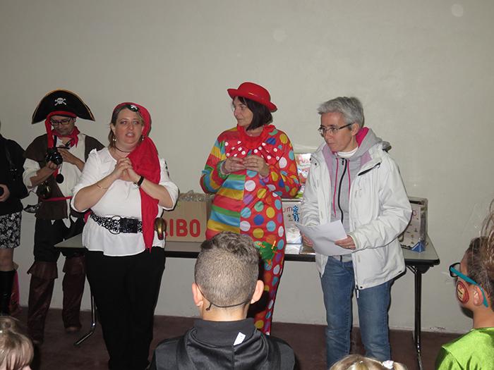 Madame le maire a proclamé les résultats du concours de dessins