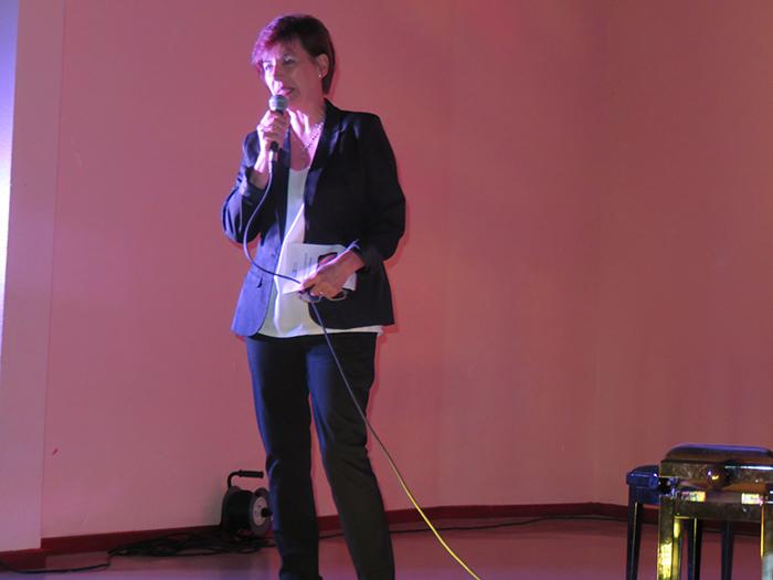 Brigitte Billault, directrice de l'école de musique Maurice André de l'Agglo d'Alès était venue assister à l'audition