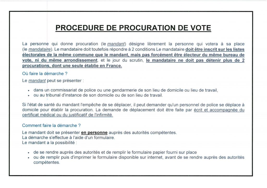 PROCEDURE DE PROCURATION DE VOTE_01