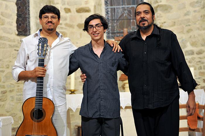 Luis Soria, Braian Toledo et Rodolfo Moises pour un concert inoubliable
