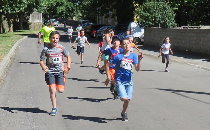 700 m de course pour les enfants