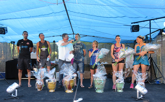 Les podiums se sont succédés pour récompenser toutes les catégories