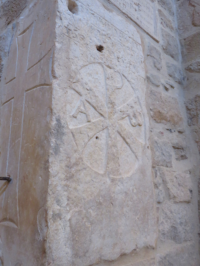 Chrisme de l'Empereur romain Constantin IVe siècle