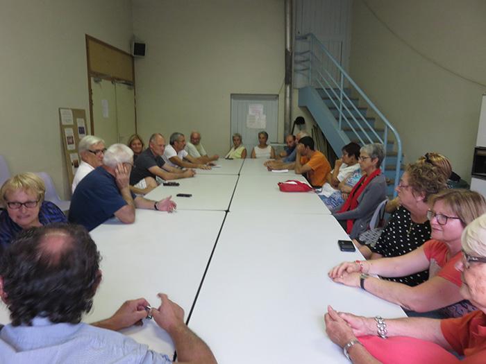 Autour de la table, constats et propositions ont été discutées