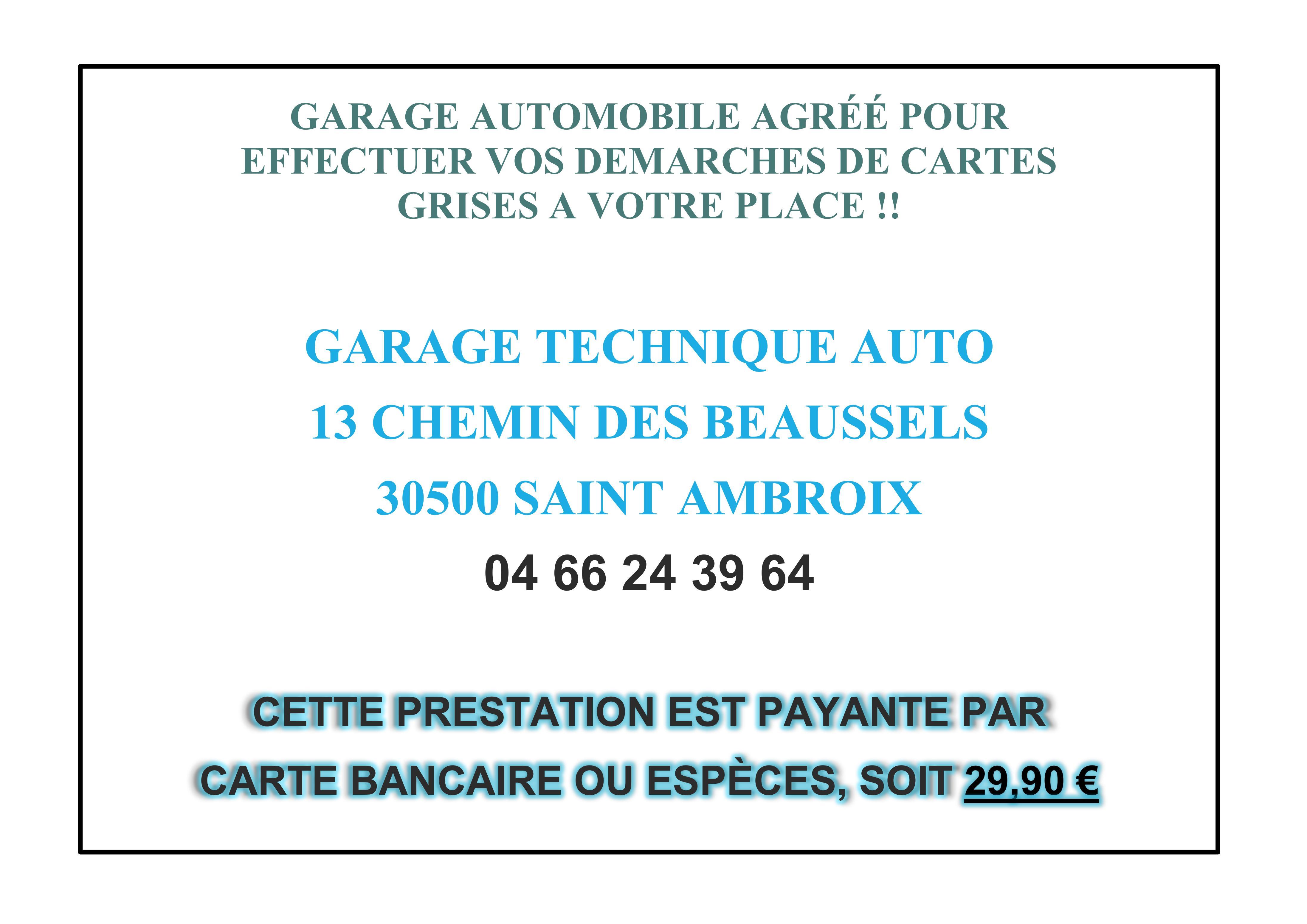 Saint jean de valeriscle site officiel for Garage agree carte grise nantes