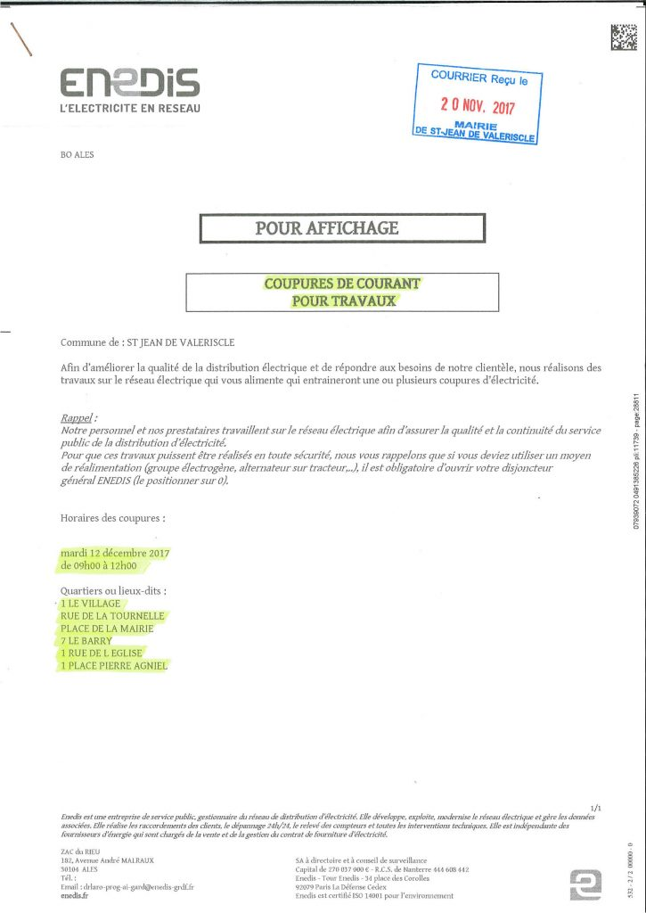 ENEDIS - Coupure de courant_01