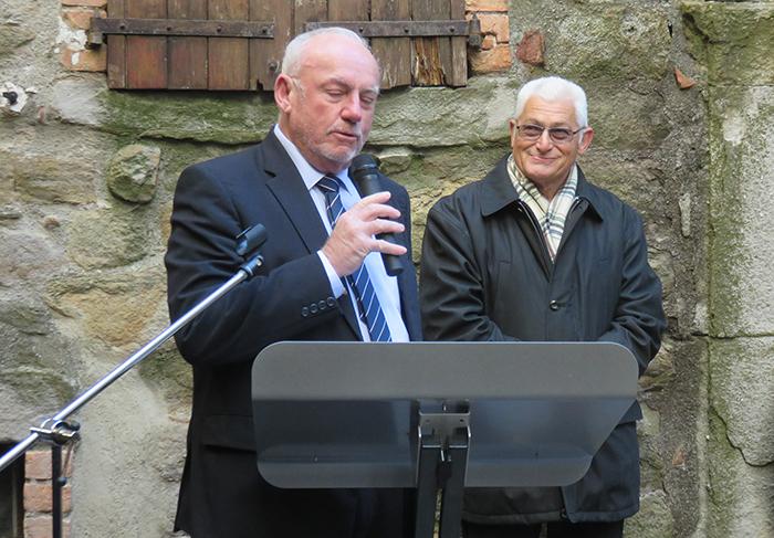 Jacky Valy a promis à Michel Sublime une aide financière pour une ouverture plus pérenne du Musée
