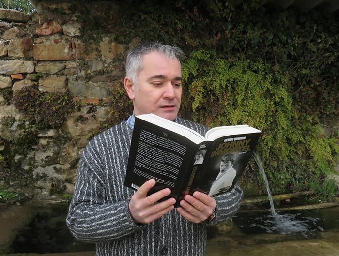 Frédéric Quinonero présente son 4e ouvrage sur Johnny Halliday