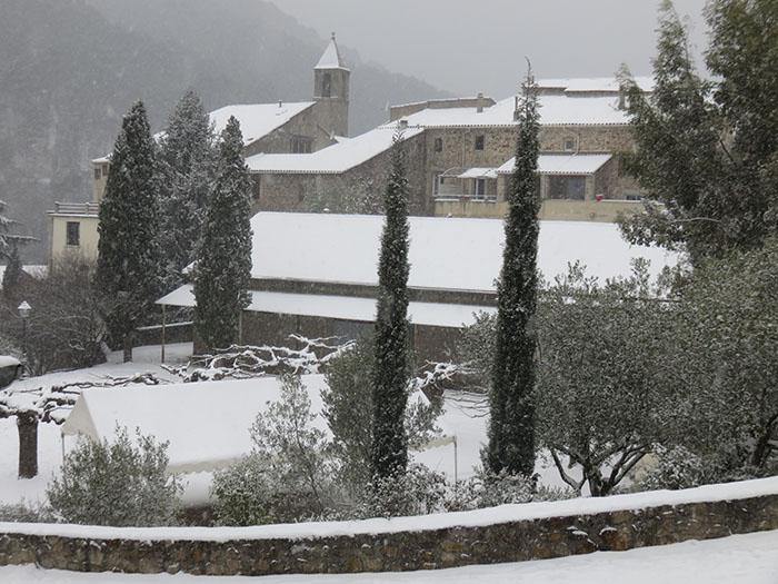 ... et pourtant : le 1 mars il neigeait !