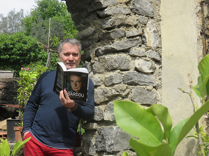 Frédéric Quinonero présente sa nouvelle biographie