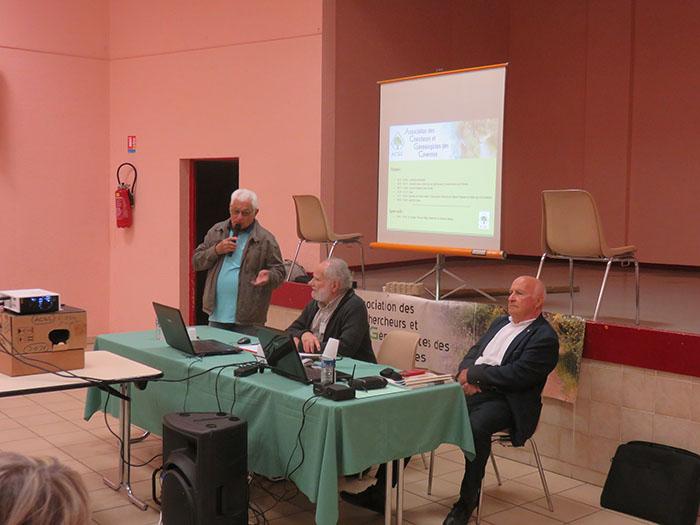 Présentation de la matinée par Michel Sublime représentant la municipalité