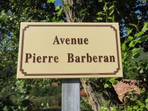 PIERRE BARBERAN, RÉSISTANT TOMBÉ LORS DU COMBAT D'AUZON