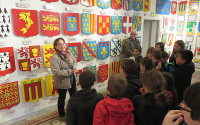 Visite du Musée des blasons