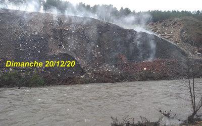Incendie du terril : le comité des riverains écrit au Sous-préfet suite à l'article du Midi Libre