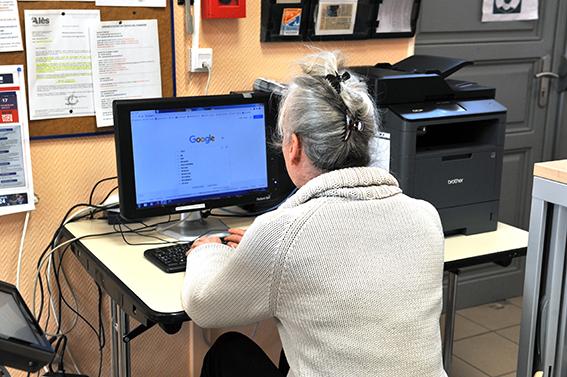 Un point numérique à votre disposition en mairie