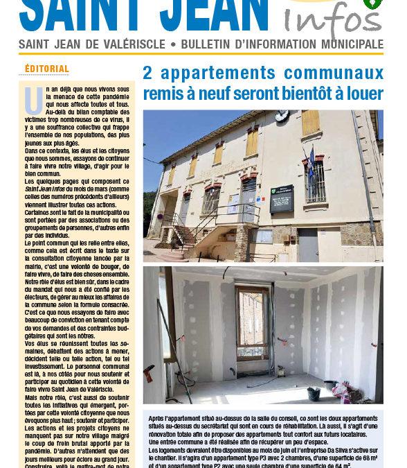 Le Saint Jean Infos de mars bientôt distribué