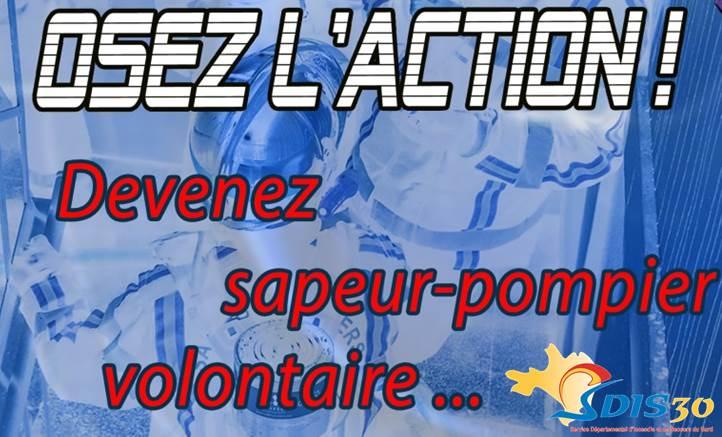 Devenez sapeur pompier volontaire à Saint Ambroix !!!!