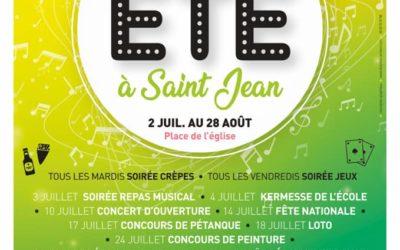 L'été se prépare à Saint-Jean-de-Valériscle