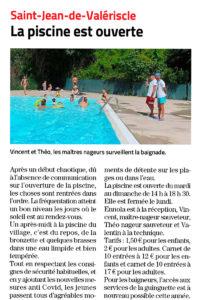 La piscine de Pomier : un havre de fraîcheur à votre disposition