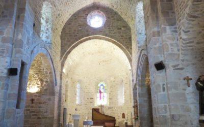 Visite de l'église romane de Saint Jean : son et lumières