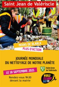 Samedi 18 septembre : participez à la journée mondiale de nettoyage