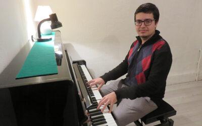 CHRISTOPHE SMIT NOUVEAU PROFESSEUR DE PIANO