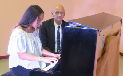 AGREABLE AUDITION DE PIANO